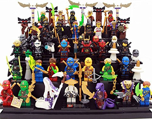 Superheroes Minifigures 39 piece/set Ninjaheroes with sword Building Blocks Brinks Size 4.5-5cm Pack in plastic
