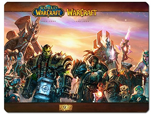 World of Warcraft Deluxe Mousepad All Characters