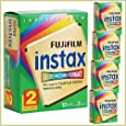 FujiFilm Instax Wide Picture Format Instant Film, 10 Exposures (Pack of 5 Twin Packs)
