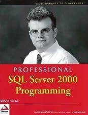 Professional SQL Server Programming by Robert Vieira