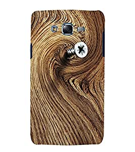printtech Wood Pattern Nail Back Case Cover for Samsung Galaxy Quattro i8552 / Samsung Galaxy Quattro Win i8552