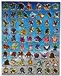 Pokemon Characters Sheet 4 - A4 Sheet of stickers