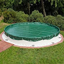 Pool Winterabdeckplane - Cubierta de invierno para piscina redonda (Ø 4,60 m)