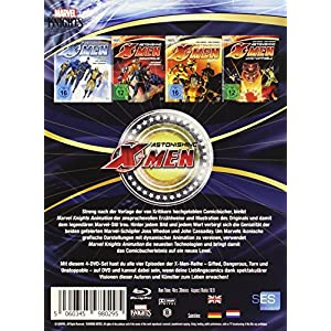 Astonishing X-Men: Box Set [Blu-ray] [Import allemand]