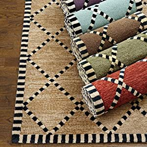 "Amazon Turin Indoor Outdoor Rug Spa 3 6"" x 5 6"