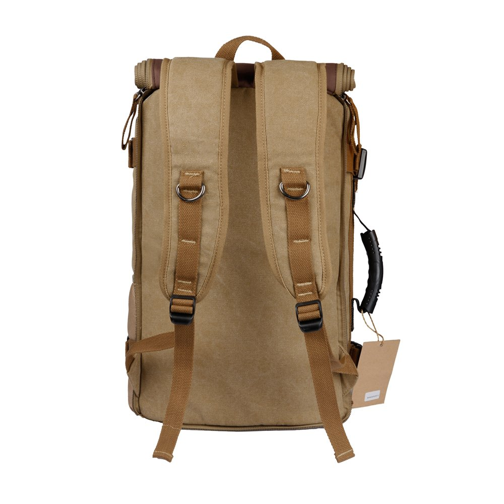 OXA Vintage Canvas Travel Backpack 3