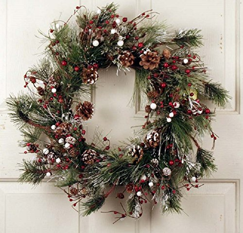 Winter Magic Holiday Wreath