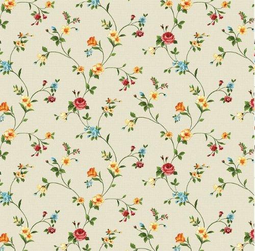 Wachstuch-Tischdecke-Fantastik-Motiv-Blumen-Meterware-direkt-von-der-Rolle-100x120cm