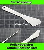 Finest-Folia UG Film följeslagare kanter glid gummi Heber Bil Indpakning foliering beading spår