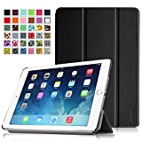Fintie iPad Air 2 Hülle Superleicht SmartShell Schutzhülle Tasche Case für Apple iPad Air 2 (iPad 6 6th Generation) - Ultradünn Smart Cover mit Standfunktion und Auto Sleep / Wake Funktion, Schwarz