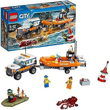 LEGO - 60165 - City - Jeu de Construction - L'unité d'intervention en 4x4