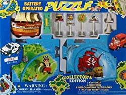 Puzzle Car Set -- Battery Operated Pirate Ship