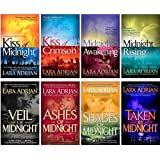 Midnight Breed Series Collection Set 1-8 (Kiss of Midnight, Kiss of Crimson, Midnight Awakening, Midnight Rising, Veil of Midnight, Ashes of Midnight, Shades of Midnight, Taken by Midnight, Books 1-8)