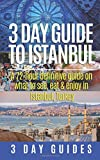3 Day Guide to Istanbul: A 72-hour Definitive Guide on What to See, Eat & Enjoy (3 Day Travel Guides) (Volume 6)