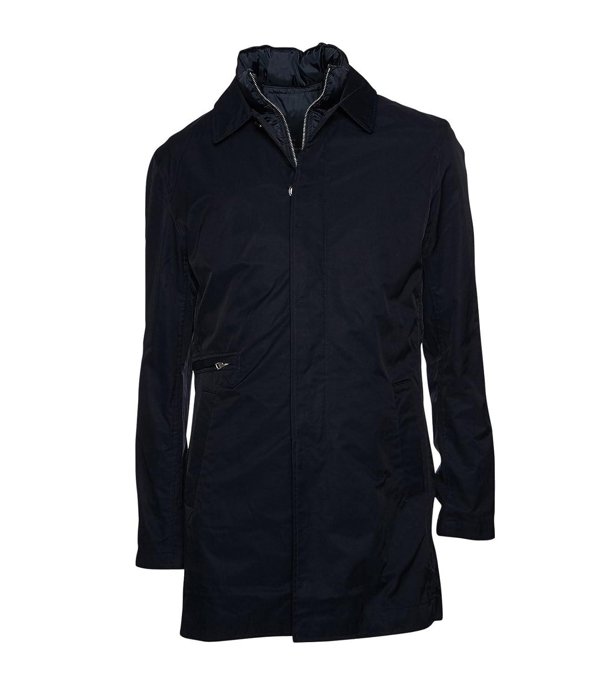 J.LINDEBERG Herren Mantel Winter Baumwolle blau jetzt bestellen