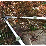 Worth Garden Professional Telescopic Anvil Lopper, Long Reach Hard Branches Trimmer W/ Antirust Blade, Extendible...