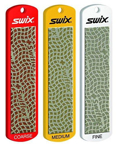 SWIX Diamantfeilen-Set 100 (grob - medium - fein)