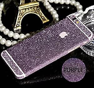 Loomin Full Body Film Bling Crystal Diamond Screen Protector Film Sticker For iPhone 6 Plus(5.5 inch) (purple)