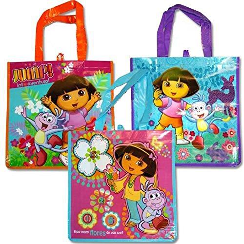 Dora Non Woven Tote Bag-3 Pack - 1