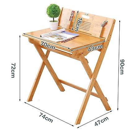 Haushaltsgegenstände BambusFreizeit Tisch Lernschreibtisch Portable Schreibtisch Klapptisch / Modern Einfacher Klappstuhl -CRS-ZBBZ ( Farbe : #1 )