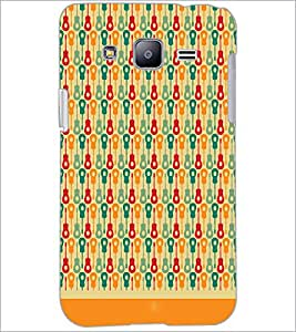 PrintDhaba Pattern D-1624 Back Case Cover for SAMSUNG GALAXY J2 (Multi-Coloured)