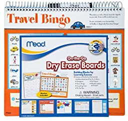Mead Dry Erase On-the-Go Board, Grades K-3 (54232)