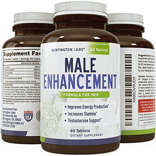 Pure-Maca-Supplement--Natural-Real-Enhancement--Highest-Grade-and-Quality-Tablets--Pure-Maca-Root-L-Arginine-Tongkat-Ali-Powder-Lifetime-Guarantee-by-Huntington-Labs