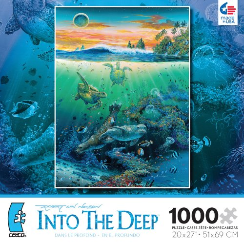 Robert Lyn Nelson Into The Deep Society 1000 Piece Jigsaw Puzzle