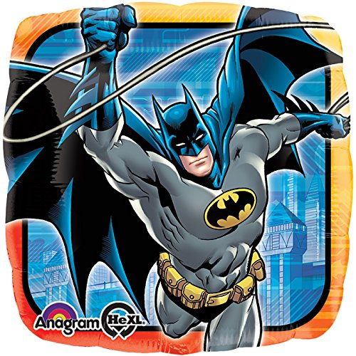 Anagram International HX Batman Comics Party Balloons, Multicolor - 1