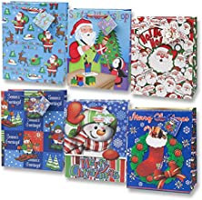 Large Assorted Christmas Gift Bags 12
