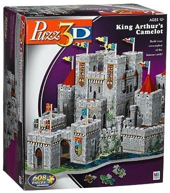 3D Puzzle Camelot Castle