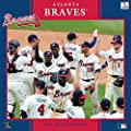 Turner Perfect Timing 2015 Atlanta Braves Team Wall Calendar, 12 x 12 Inches (8011628)