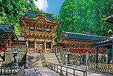 1000 Piece World Heritage Nikko Toshogu Yomeimon (49x72cm) by Beverly