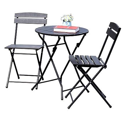 Gartenmöbel-Sets Outdoor Klapptische und Stuhle / Balkon Freizeit Garten Outdoor Plastik Tische Und Stuhle / Klapptische und Stuhle Kombination Set Tische Stuhle Möbel Sets ( Farbe : C )