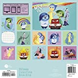 INSIDE OUT Wall Calendar 19 Month (2016)