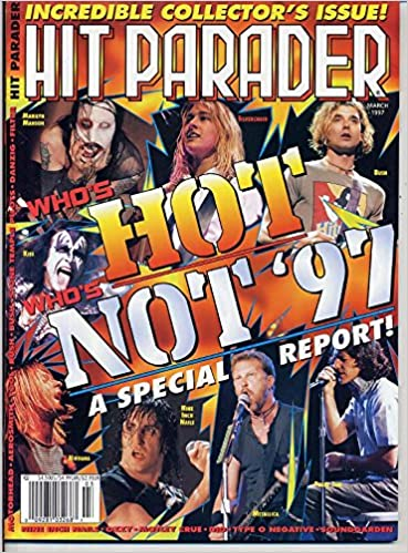 Hit Parader Magazine WHO'S HOT WHOS NOT '97 Marilyn Manson BUSH ...