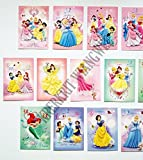 Disney Princesses Set of 16 Postcard - 4x6inches.#1
