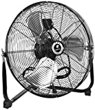 TPI Corporation CF-18 Commercial Workstation Floor Fan, 18&quot; Diameter, 120 Volt