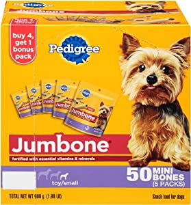 Pedigree Jumbone 10 Count Multipack Mini Treat, 10-Pack