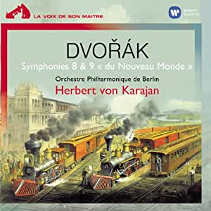 """Dvorak - Symphonies n° 8 et n° 9 """"du Nouveau Monde"""""""