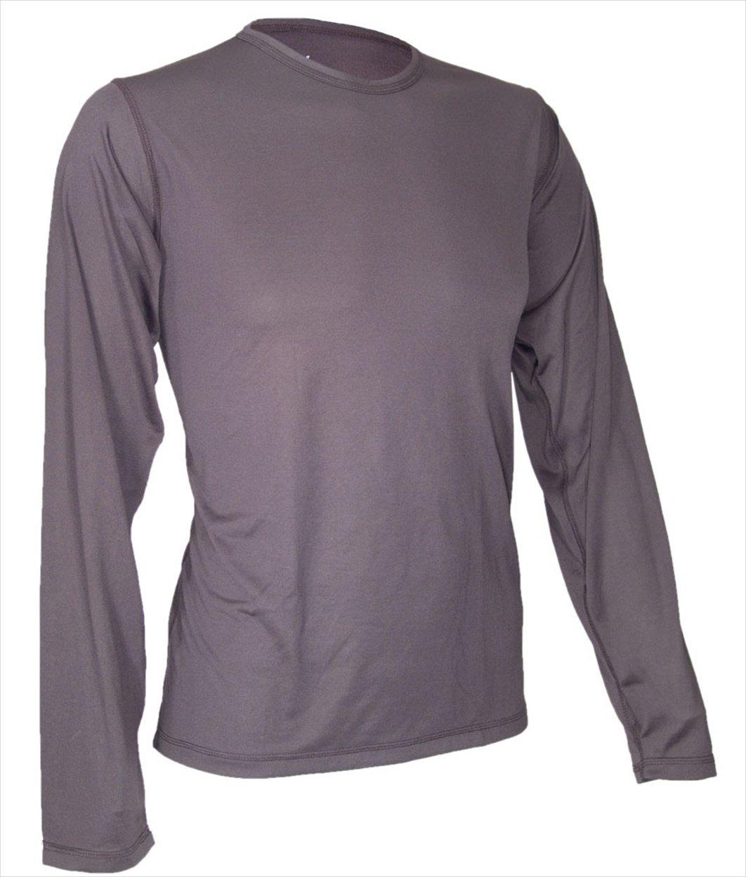 Polartec silk weight long underwear mens set shirt for Mens silk shirts amazon