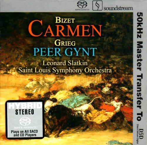 Bizet: Carmen Suites; Grieg: Peer Gynt Suite [Hybrid SACD]