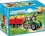 PLAYMOBIL 6130 - Gro�er Traktor mit A...