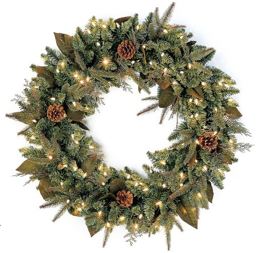 Battery Operated Christmas Wreath Fel7 Com