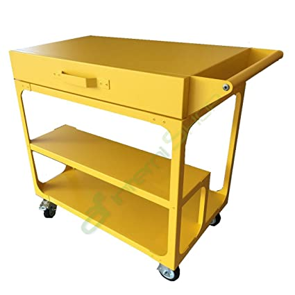 Scavolini by diesel – Misfit Yellow Serving Trolley Furniture