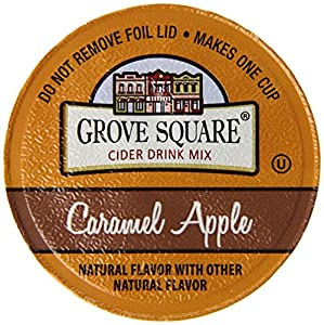 Grove Square Cider, Caramel Apple, 24 Single Serve Cups