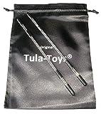 Bondage Stahl Nippelspangen einstellbar runde Ausführung schwarz - Nippelklemmen Nippelklammern Brustklammern
