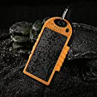 JJF Bird TM Solar Panel Charger 12000mah Rain-resistant Waterproof Shockproof Portable Dual USB Port Portable Charger Backup External Battery Power Pack for Iphone 6 4 4s 5 5sipod, Ipad Ipad Mini Retina(apple Adapters Not Included), Samsung Galaxy Note 2, Note 3, S2 S3, S4, S5, Blackberry Z30, Z10, Q10, Q5, Asus Nexus 4, 5, 7, 10, HTC One V, X, M8, M7, Mini, Max, Motorola Moto G, X, E, Droid, Lg G2, G3, Sony Xperia, Nokia Lumia, Icon, 521, 520, 920, 1020, 1520 Most Android/windows Smart Cell Phones, Gps, Tablets, and Other Usb-charged Devices, Etc. (orange)