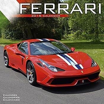 Cheapest Copy Of Ferrari Calendar 2016 Wall Calendars