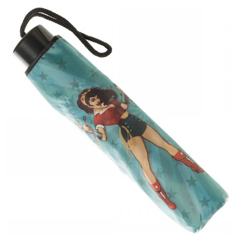 BioWorld Womens DC Comics Wonder Woman Compact Umbrella 3